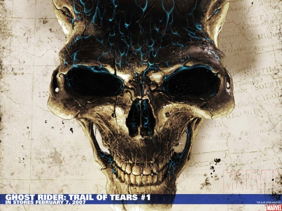 Ghost Rider: Trail of Tears (2007) #1 Wallpaper