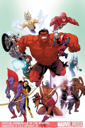 Official Handbook of the Marvel Universe a to Z Update #3