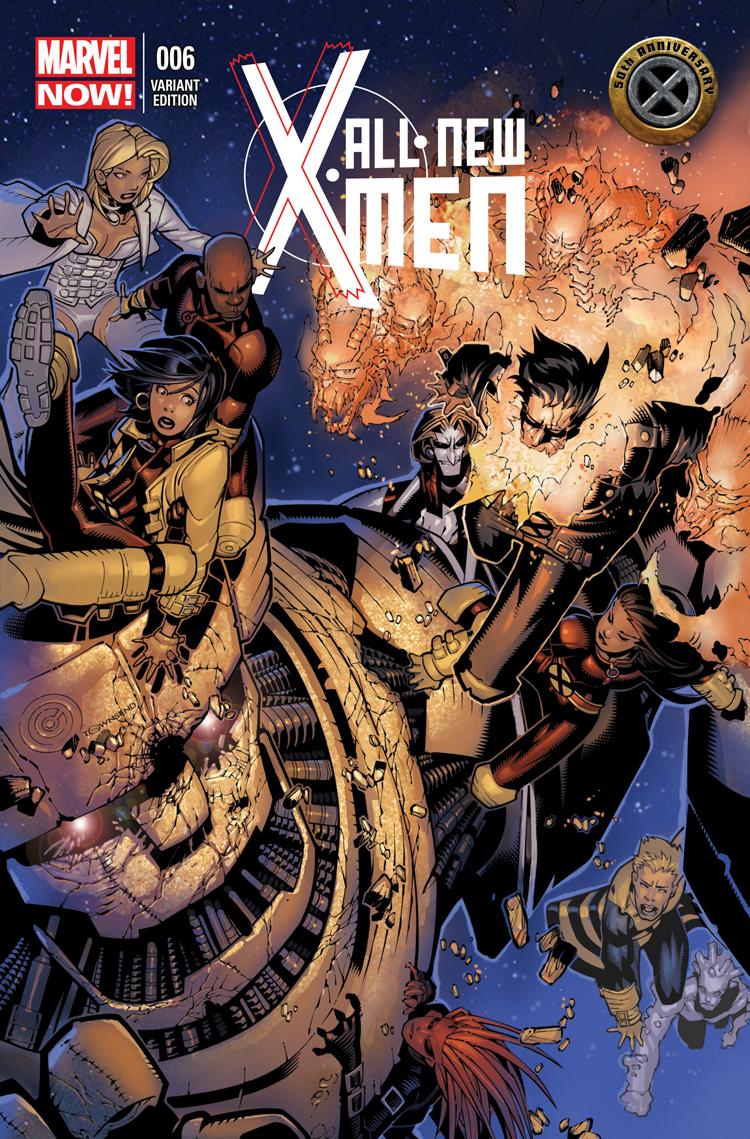 All-New X-Men (2012) #6 (X-Men 50th Anniversary Variant)