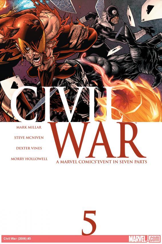 Civil War (2006) #5