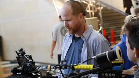 Director Joss Whedon behind the scenes of 'Marvel's Agents of S.H.I.E.L.D.' pilot