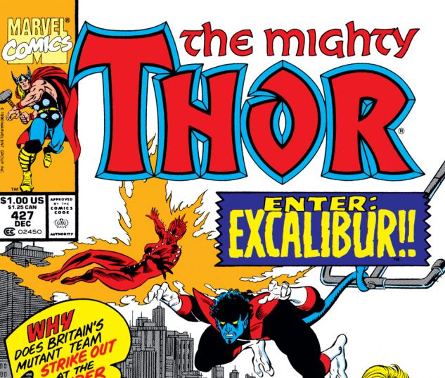 Thor (1966) #427 Cover
