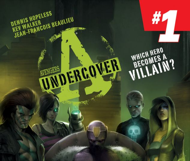 AVENGERS UNDERCOVER 1 (ANMN, WITH DIGITAL CODE)