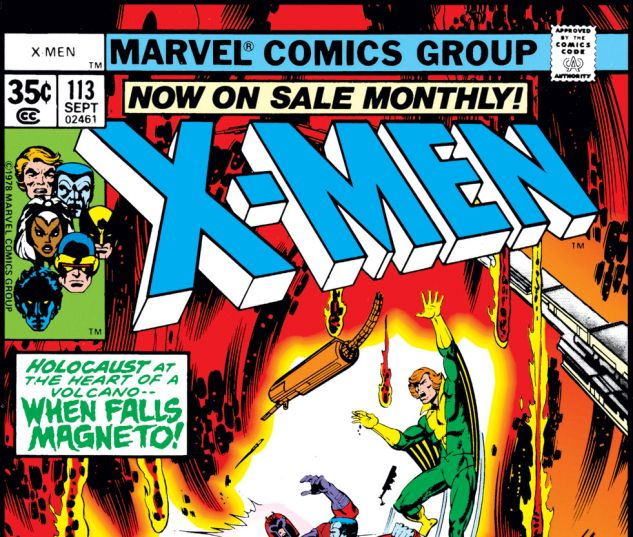 Uncanny X-Men (1963) #113 Cover
