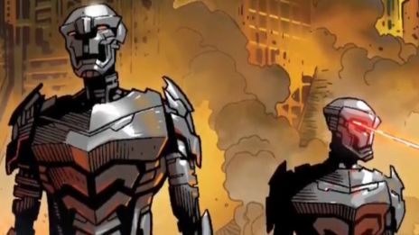 Marvel AR: Infinity #2 Cover Recap