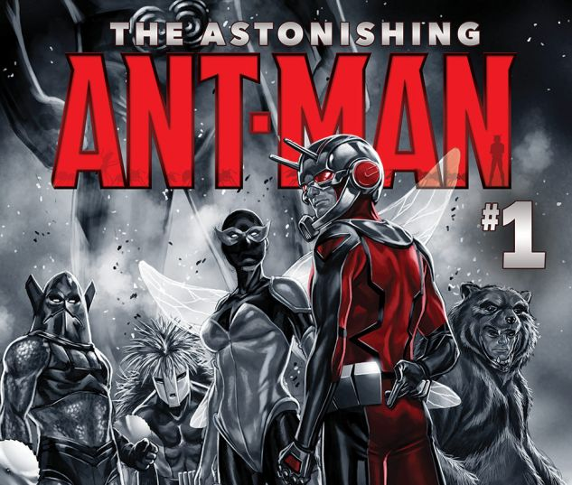 THE ASTONISHING ANT-MAN 1 (WITH DIGITAL CODE)