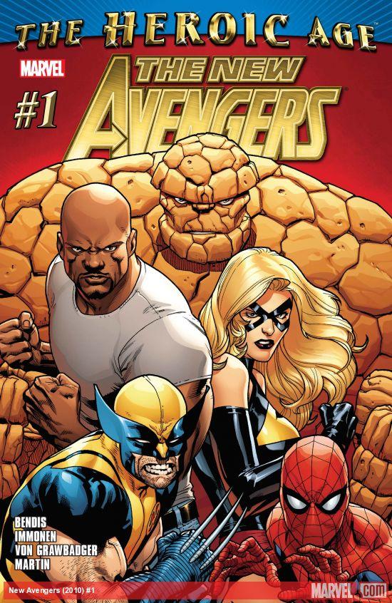 New Avengers (2010) #1