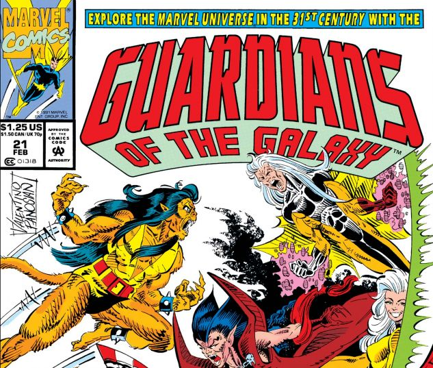 Guardians of the Galaxy (1990) #21