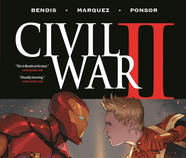 cover to Civil War II (2017) HC