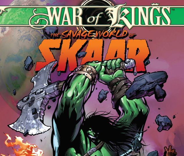 WAR OF KINGS: SAVAGE WORLD OF SAKAAR (2009) #1
