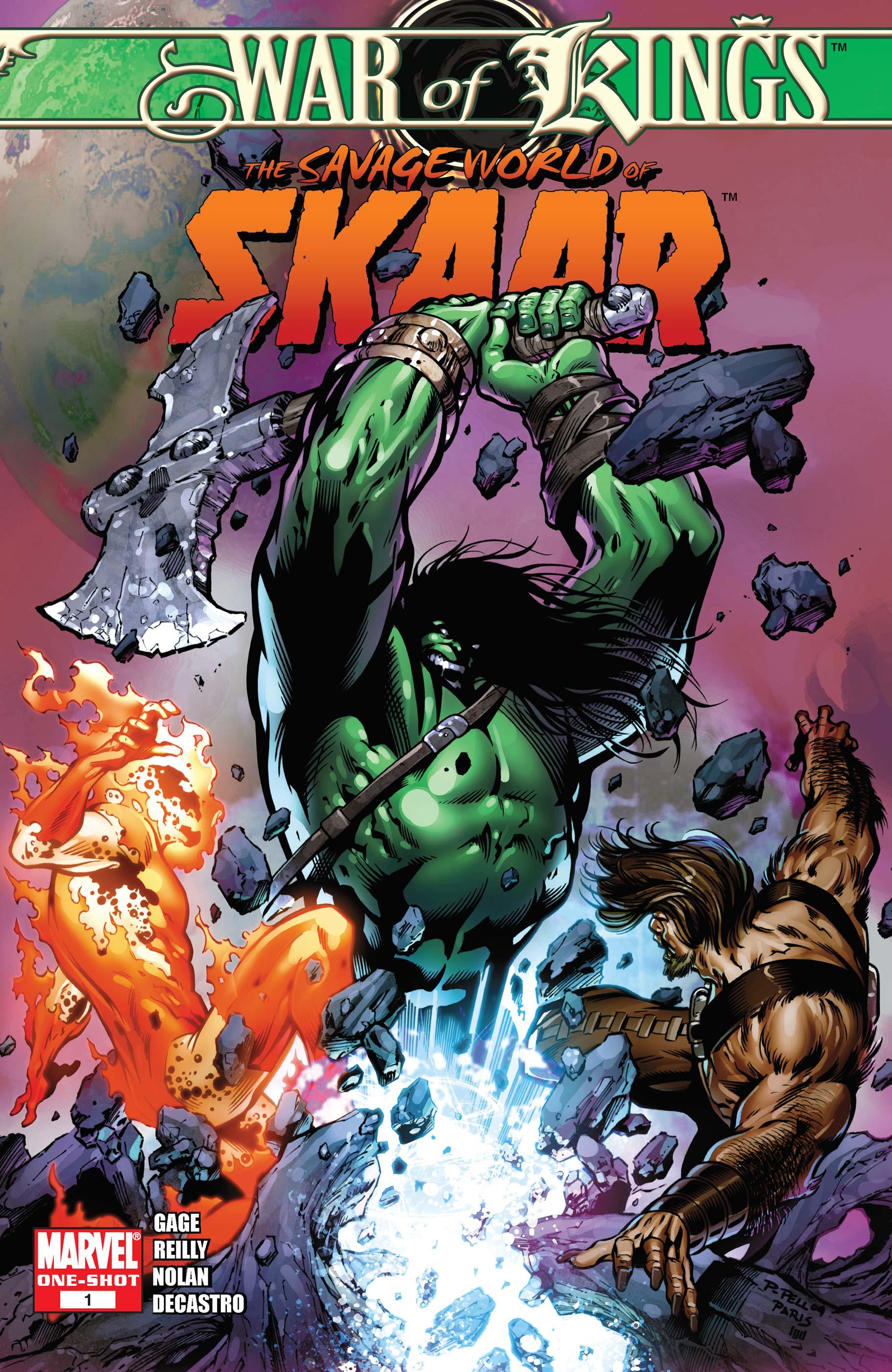 War of Kings: Savage World of Sakaar (2009) #1
