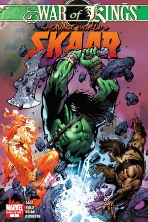 War of Kings: Savage World of Sakaar #1