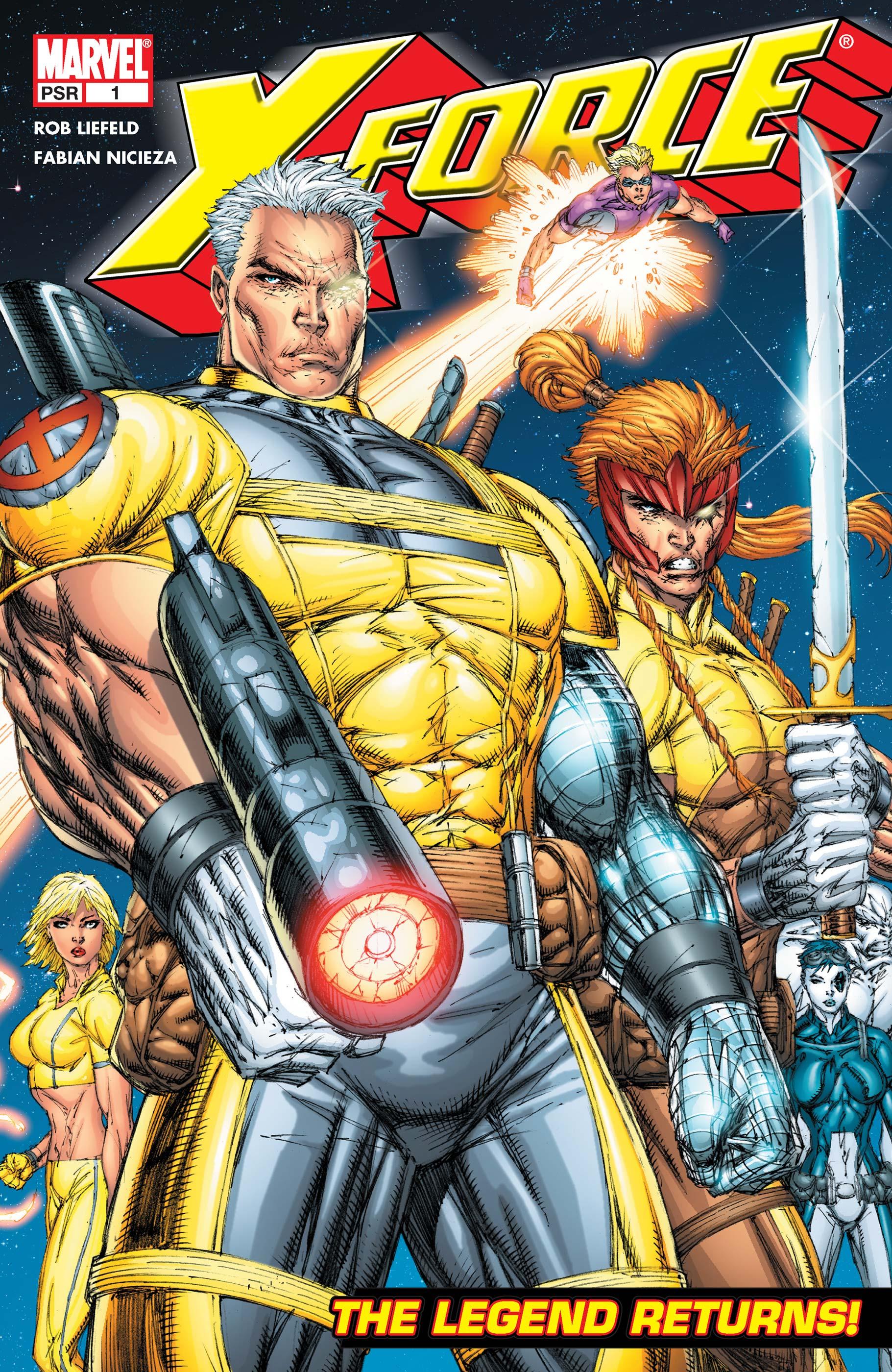 X-Force (2004) #1