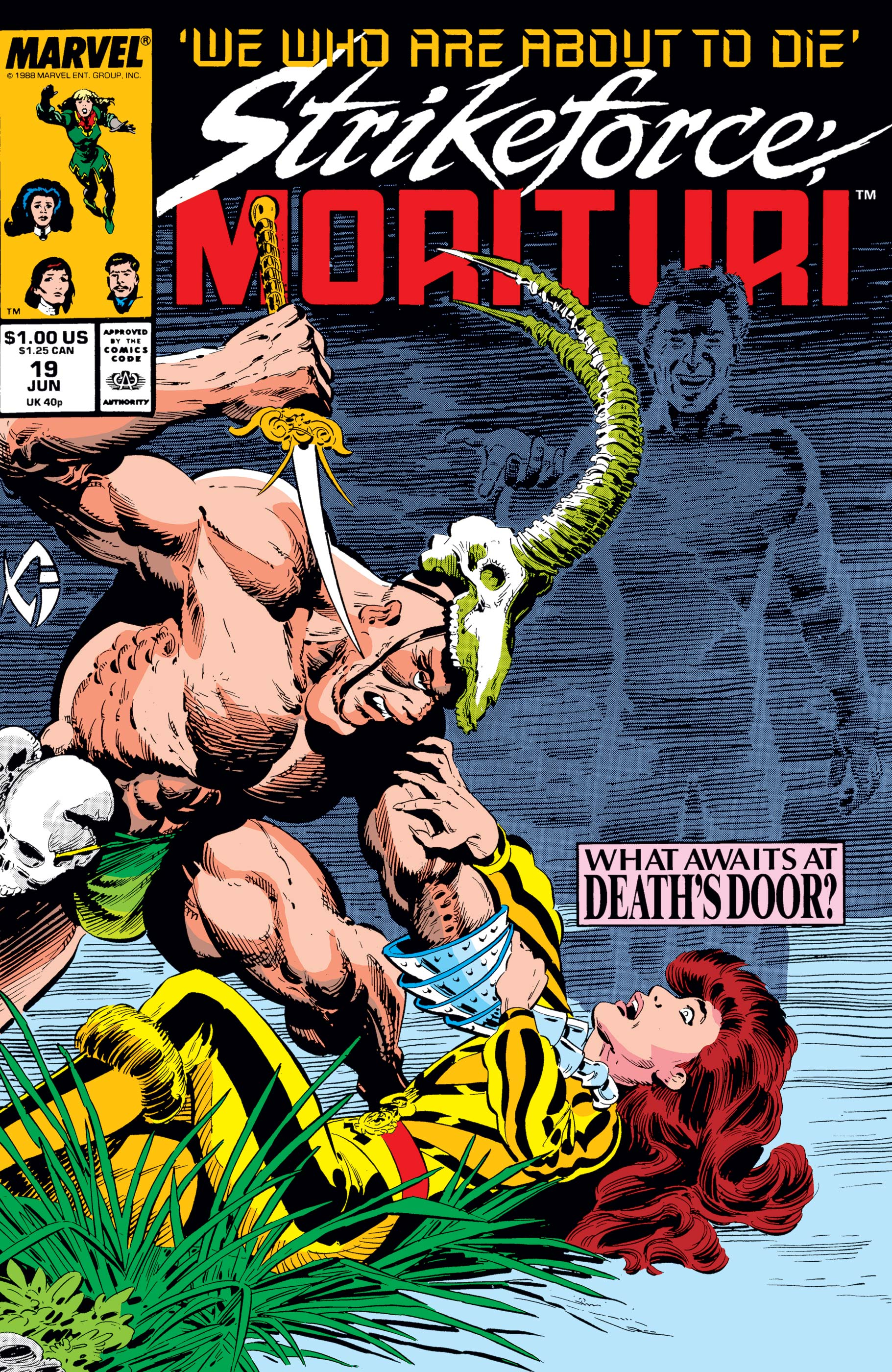 Strikeforce: Morituri (1986) #19