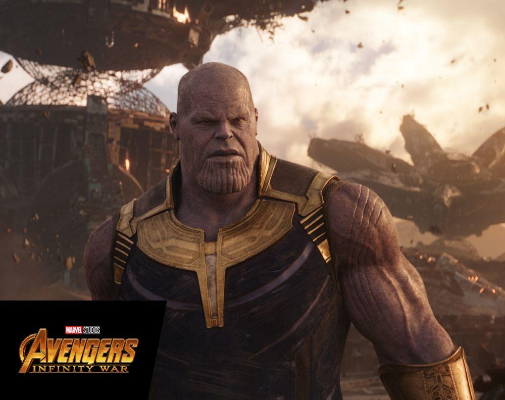 Thanos Demands Silence