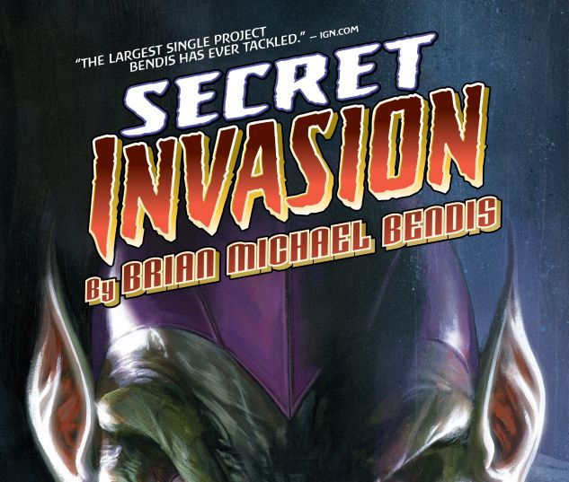 cover from SECRET INVASION BY BRIAN MICHAEL BENDIS OMNIBUS HC (2018) #1