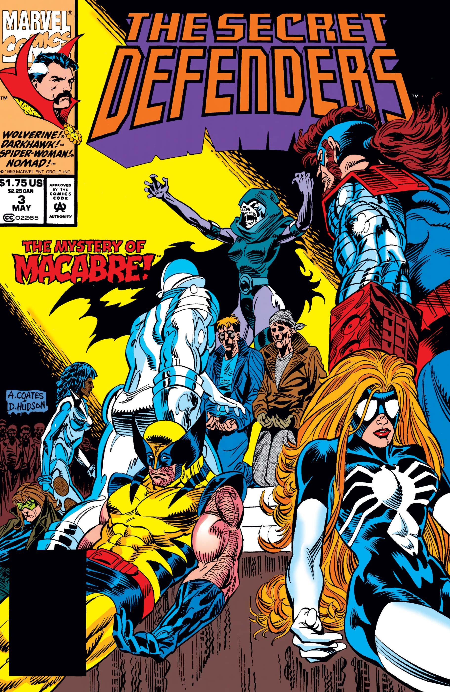 Secret Defenders (1993) #3
