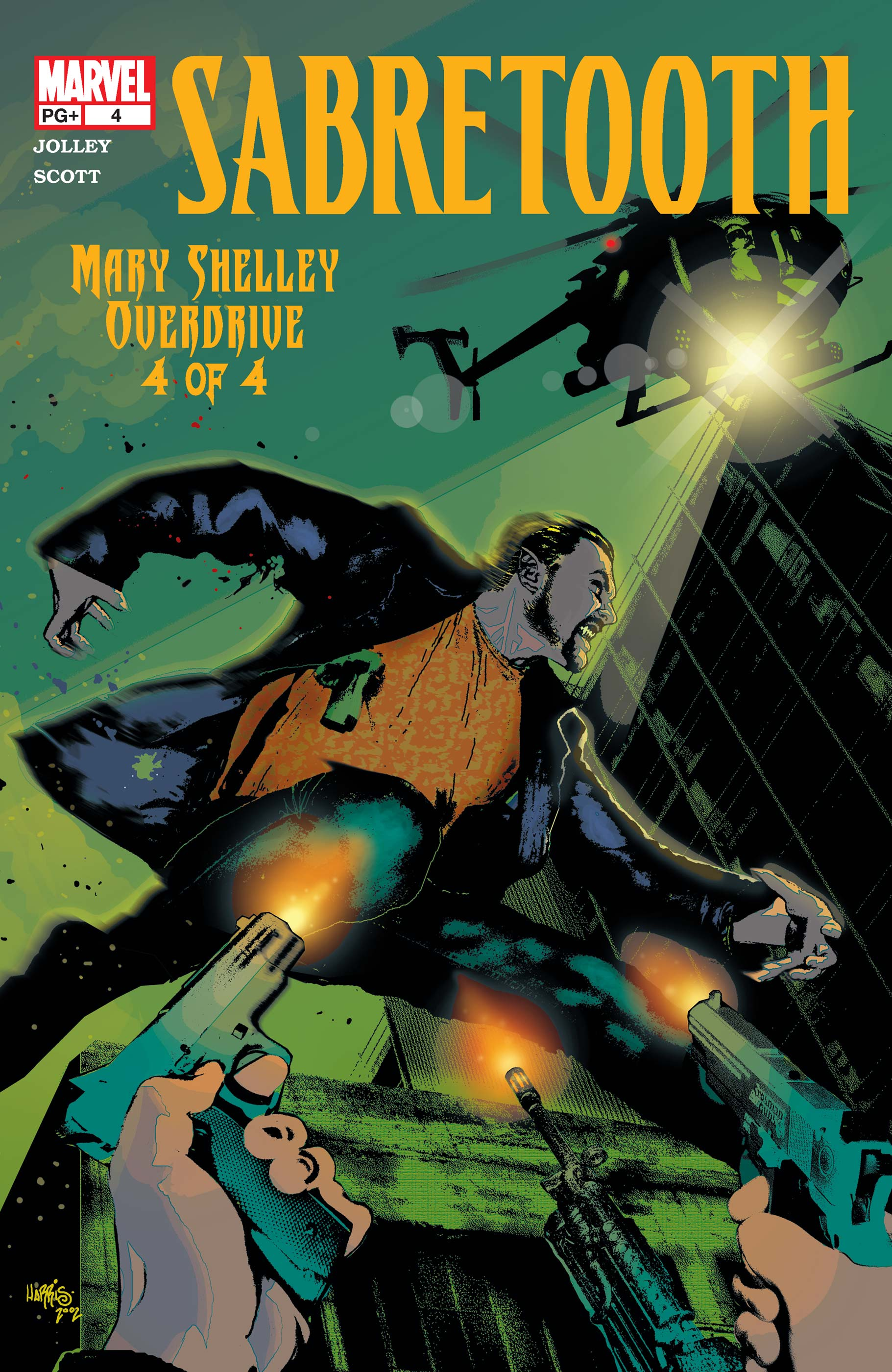 Sabretooth: Mary Shelley Overdrive (2002) #4
