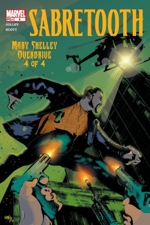 Sabretooth: Mary Shelley Overdrive #4