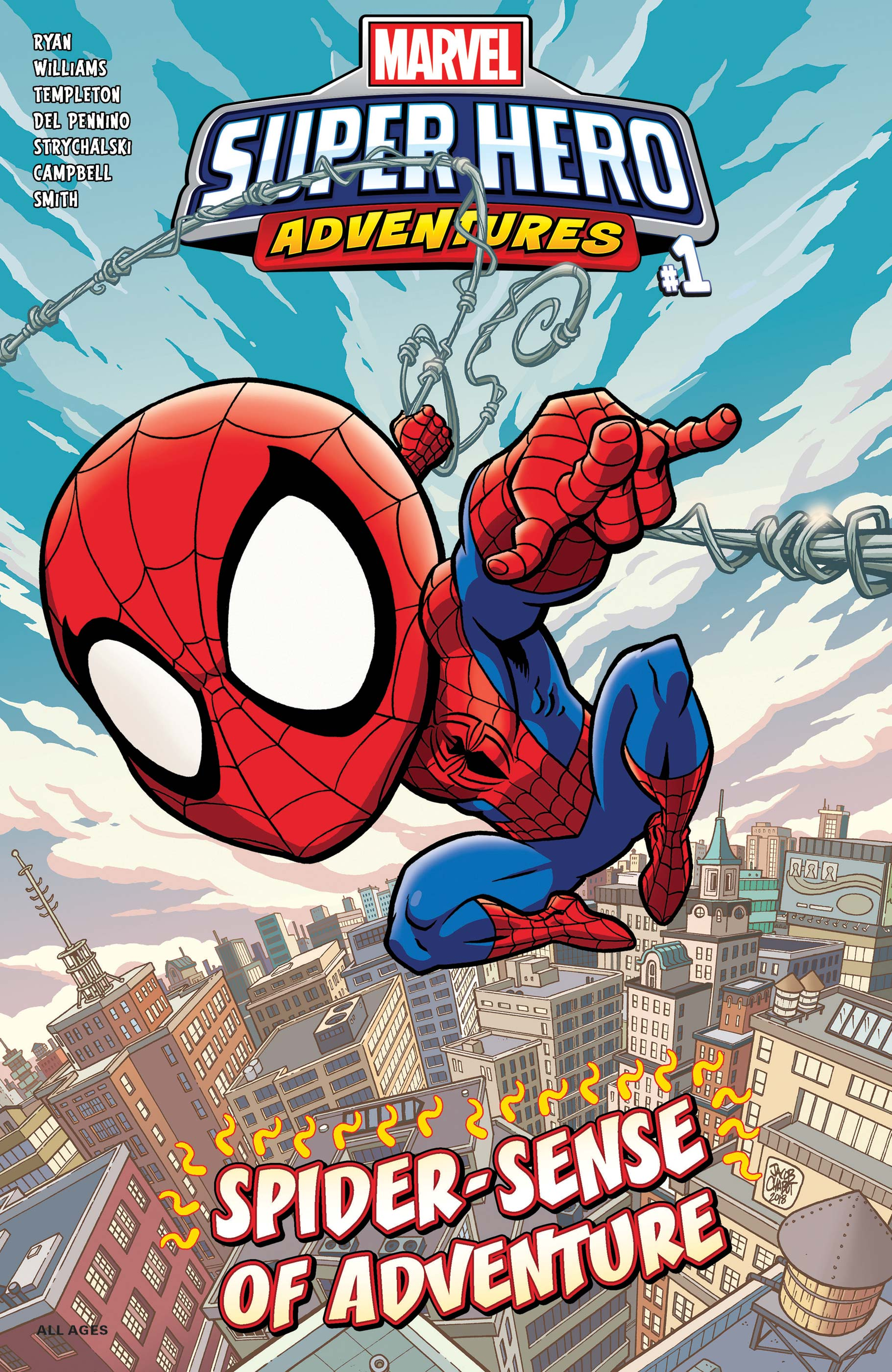Marvel Super Hero Adventures: Spider-Man - Spider-Sense of Adventure (2019) #1