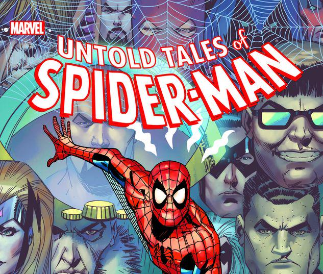 UNTOLD TALES OF SPIDER-MAN OMNIBUS HC OLLIFFE FIRST ISSUE COVER [NEW PRINTING] #1