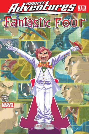 MARVEL ADVENTURES FANTASTIC FOUR VOL. 5: ALL 4 ONE, 4 FOR ALL DIGEST (Digest)