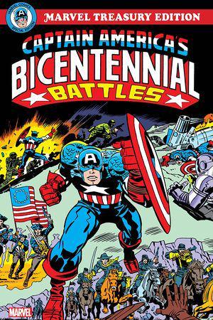 Captain America's Bicentennial Battles: All-New Marvel Treasury Edition  (Trade Paperback)