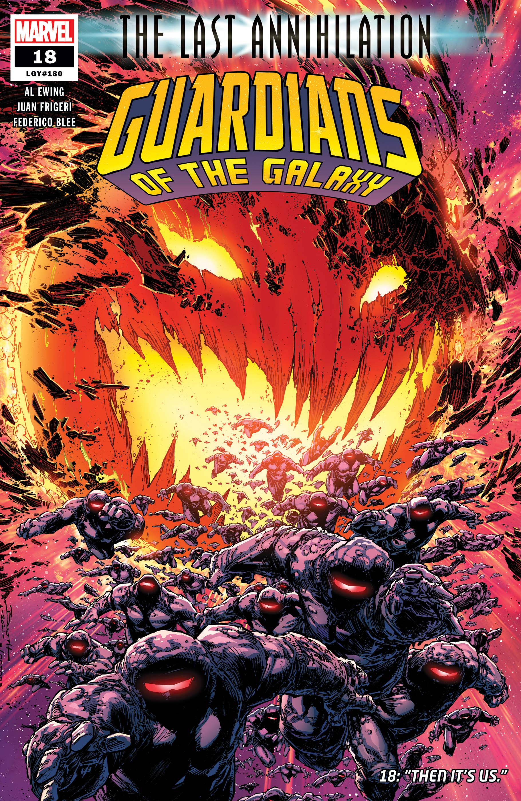 Guardians of the Galaxy (2020) #18