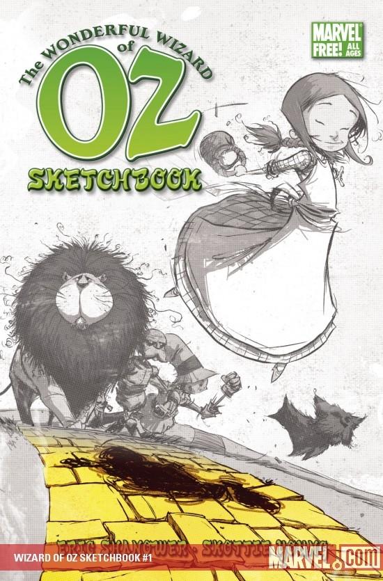 Wizard of Oz Sketchbook (2008) #1