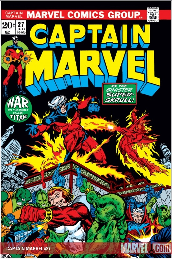 Captain Marvel (1968) #27