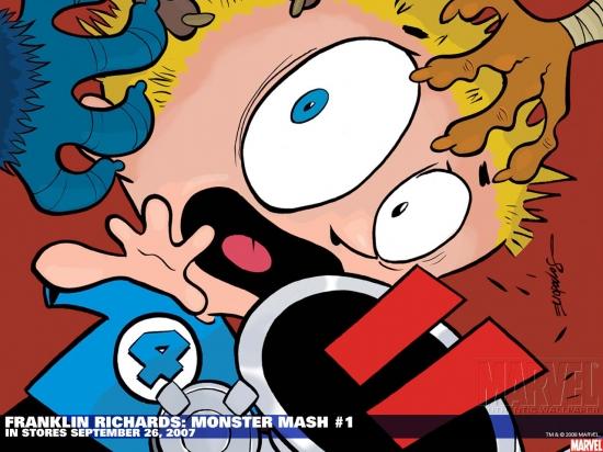 Franklin Richards: Monster Mash (2007) #1 Wallpaper