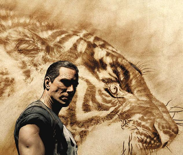PUNISHER: THE TYGER (2007) #1 COVER