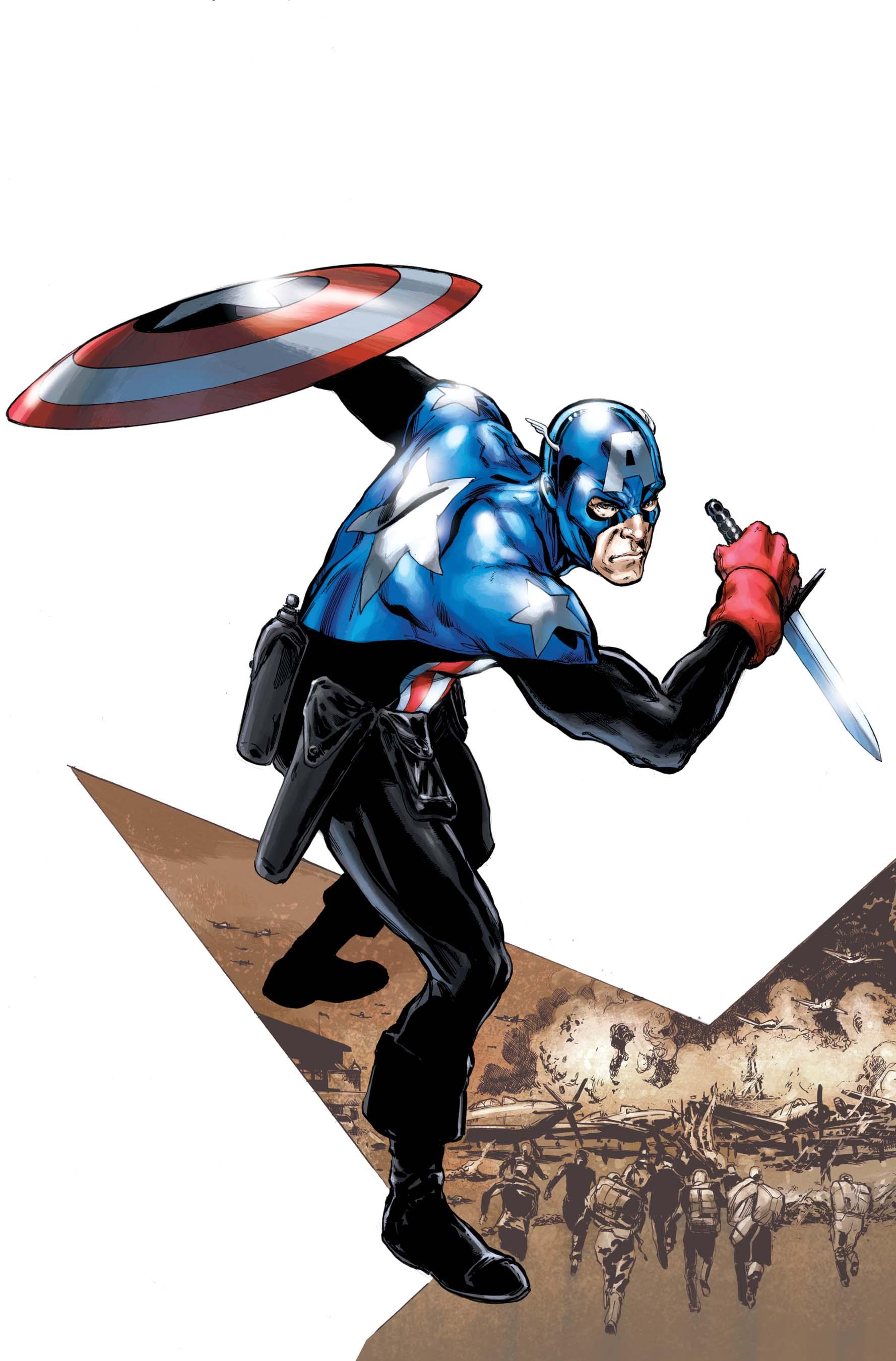 Captain America Corps (2010) #1