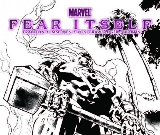 FEAR ITSELF 2 4TH PRINTING VARIANT