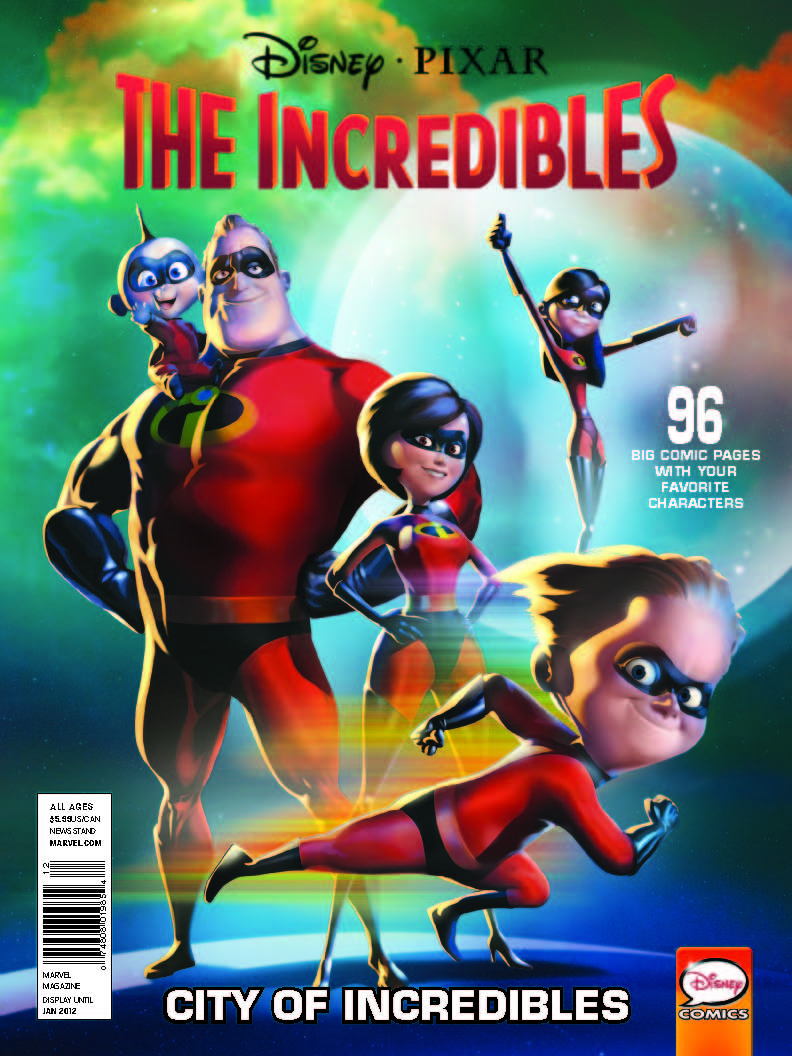 Disney/Pixar Giant Size Comics (2011) #7