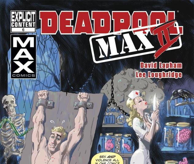 Deadpool Max 2 (2011) #6