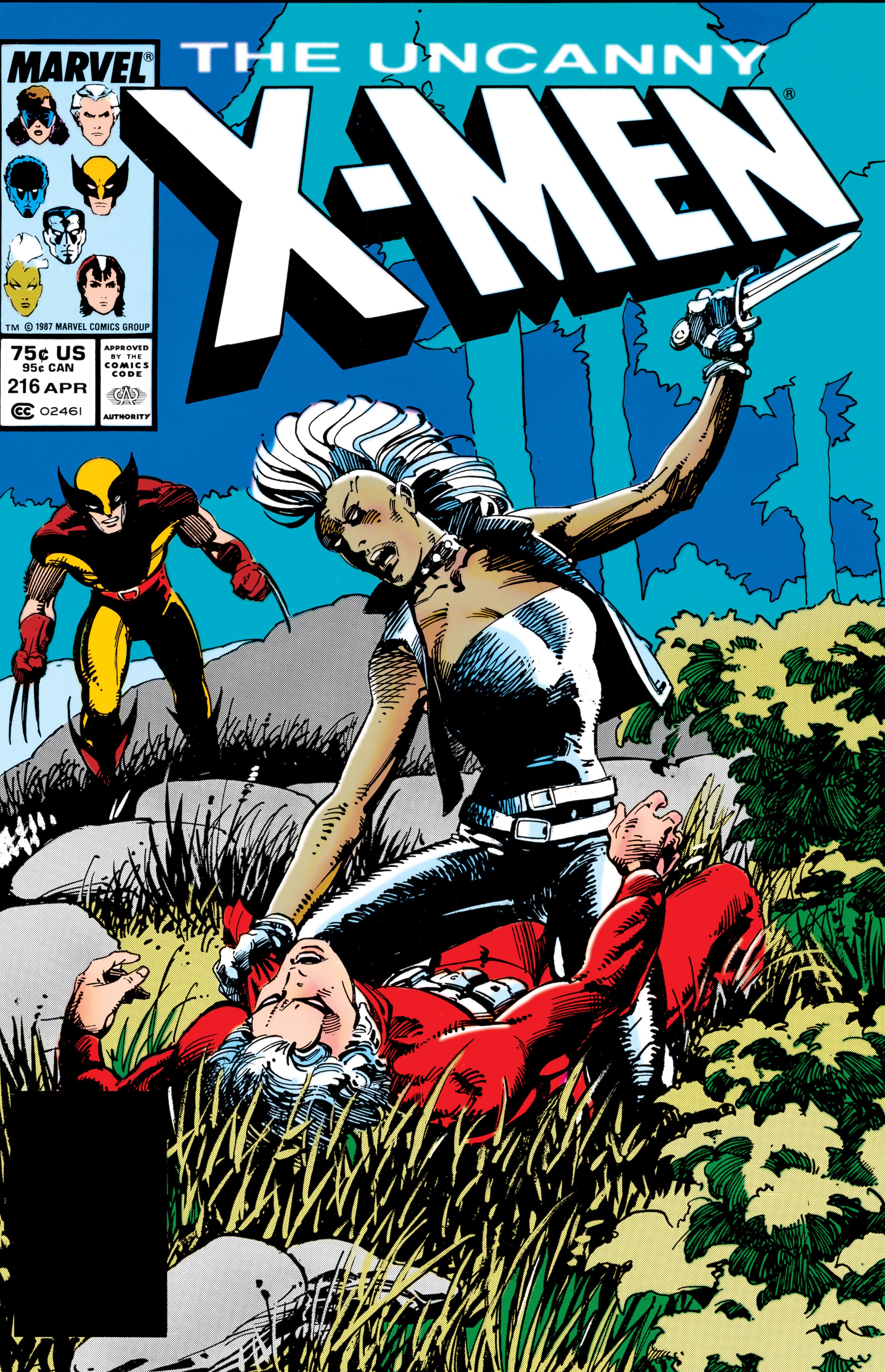 Uncanny X-Men (1963) #216