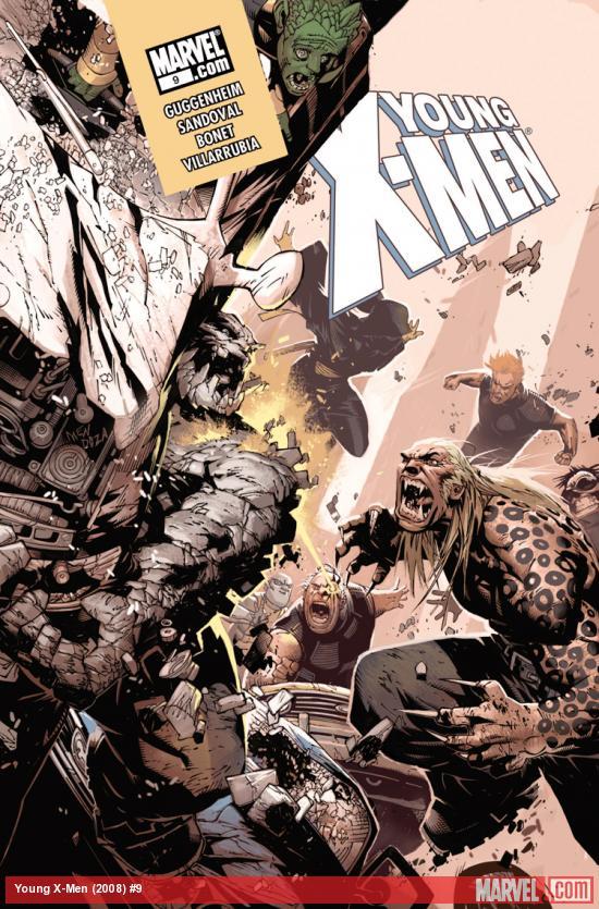 Young X-Men (2008) #9