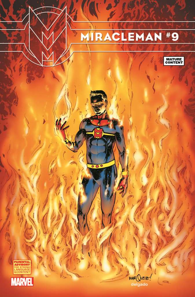 Miracleman (2014) #9 (Marquez Variant)