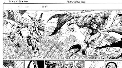 Avengers & X-Men: AXIS #1 preview by Adam Kubert