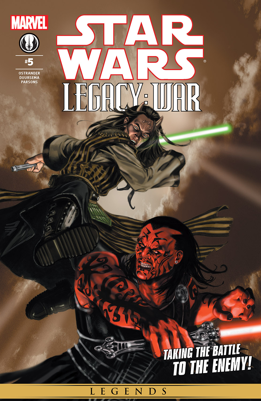 Star Wars: Legacy - War (2010) #5