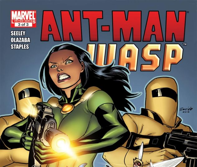 ANT-MAN & THE WASP (2010) #3 Cover