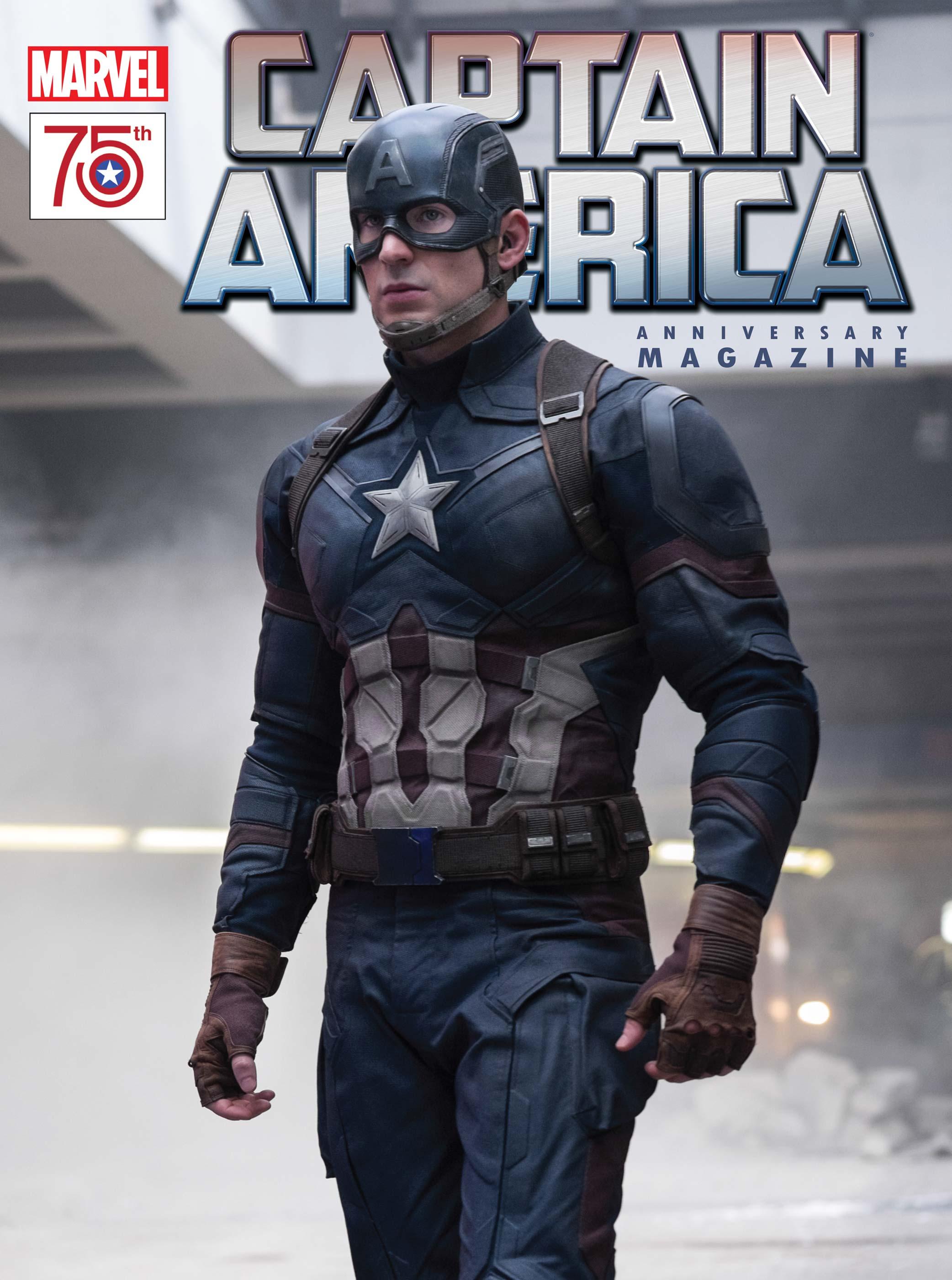 Captain America 75th Anniversary Magazine (2016) #1