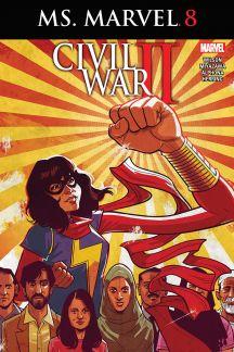 Ms. Marvel (2015) #8