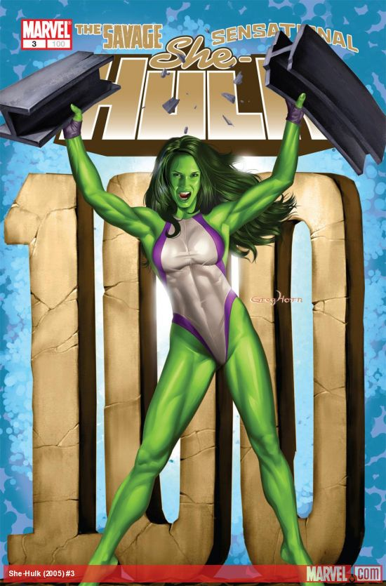 She-Hulk (2005) #3