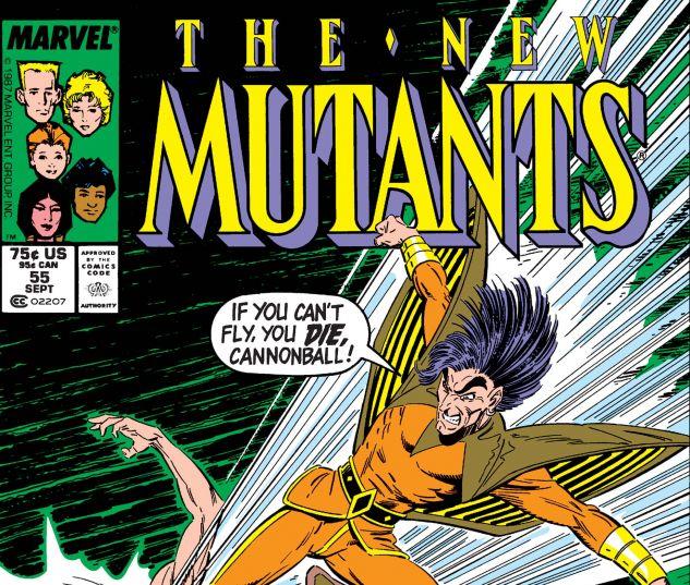 New Mutants (1983) #55
