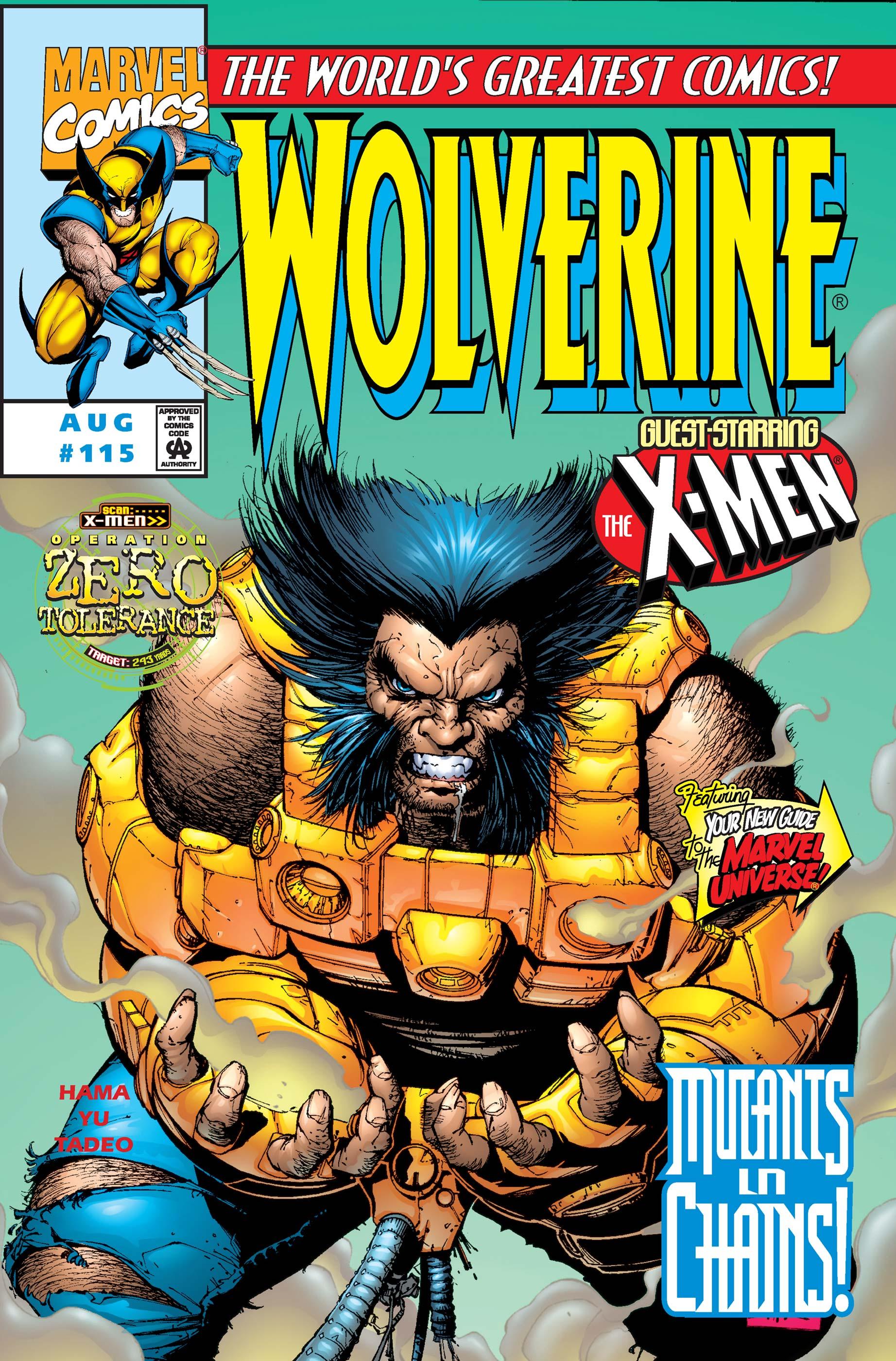 Wolverine (1988) #115
