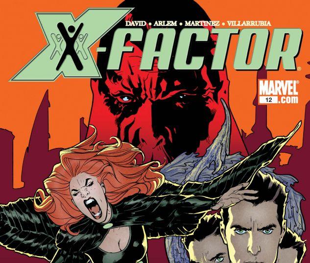 X-FACTOR (2005) #12