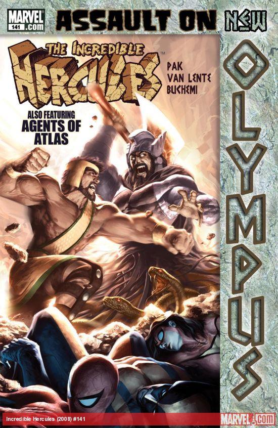 Incredible Hercules (2008) #141