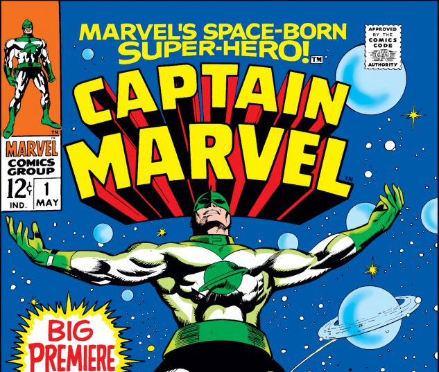 CAPTAIN MARVEL (1968) #1